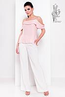 Блузка с открытыми плечами Медея-7