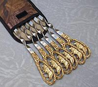 Шампуры Волк набор шампуров в чехле из плотной ткани 6шт