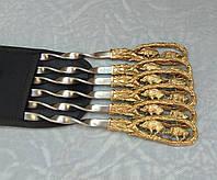 Шампуры Семья на прогулке набор шампуров в чехле из плотной ткани 6шт