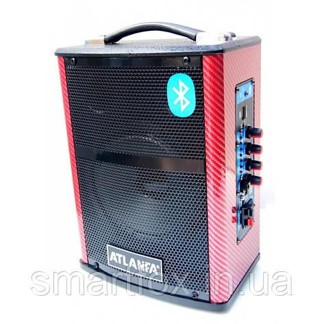 Портативная колонка-чемодан Atlanfa Q1, фото 2