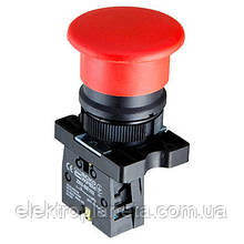 """LAY5-EC42 Кнопка """"грибок"""" (d 40 мм) """"СТОП"""" червона"""