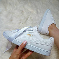 Puma basket white