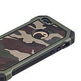 Протиударний бампер PRIMO для Apple iPhone 5 / 5S - Green Camouflage, фото 3
