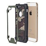 Протиударний бампер PRIMO для Apple iPhone 5 / 5S - Green Camouflage, фото 5
