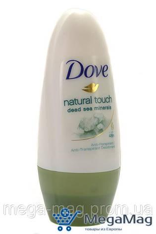 Шариковый дезодорант-антиперспирант DOVE Natural Touch 50 мл, фото 2