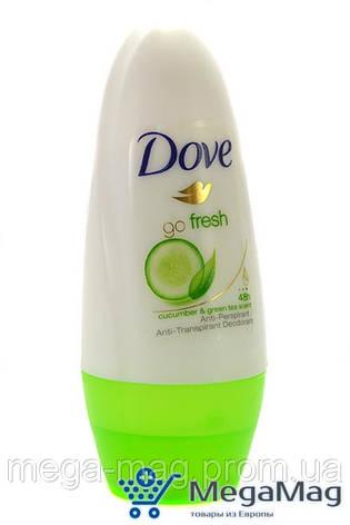 Шариковый дезодорант-антиперспирант DOVE go Fresh 50 мл, фото 2