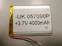 Внутренний Аккумулятор 4,5*67*89   (4000 mAh 3,7V) 057090 AAA класс в Запорожье
