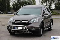 Защита переднего бампера (кенгурятник)  Peugeot Bipper 2008+