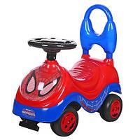 Каталка-толокар для детей YH839B человек паук (красный)