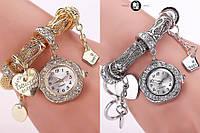 Стильные женские часы-браслет Pandora 2 цвета