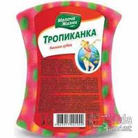"""Губка """"Тропиканка"""" банная МЖ + 1 шт 50%"""
