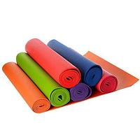 Коврик для фитнеса, йога мат MS 1184 6 цветов 172х61см