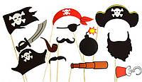 Фотобутафория Детская Пираты 13 предметов