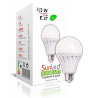 """Светодиодная лампа """"sunled"""" standart """"sungi"""" 6вт e27"""