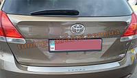 Накладка на задний бампер NataNiko на Toyota Venza 2008