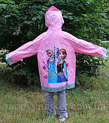 Дождевик для девочки Холодное серце Frozen 17-808-1размер XL