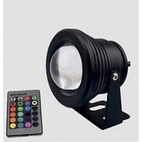 Светильник LED садовой Lemanso RGB 10W 900LM 85-265V IP65 / LM16 с пультом описание, отзывы, характеристики