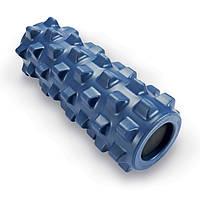 Роллер массажный (Grid Roller) для занятий йогой, пилатесом, фитнесом FI-4246. Распродажа!