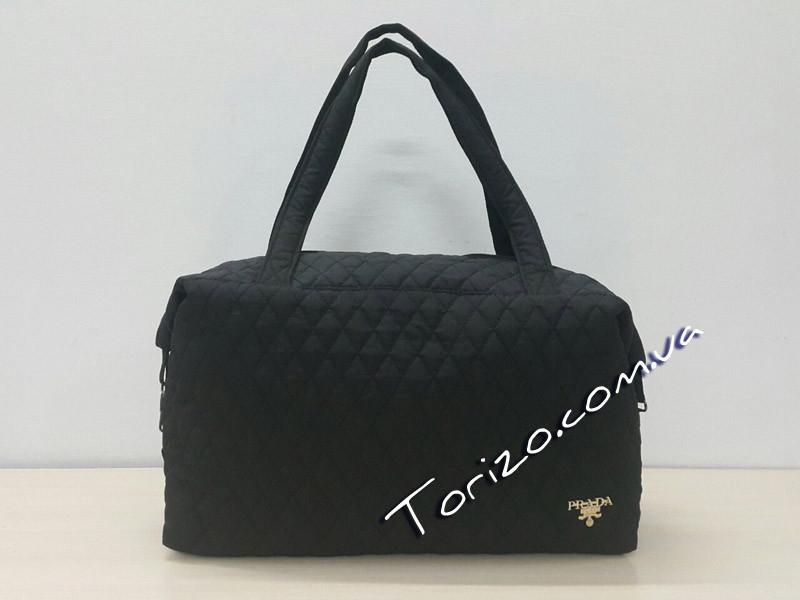 Стёганая женская сумка спортивная