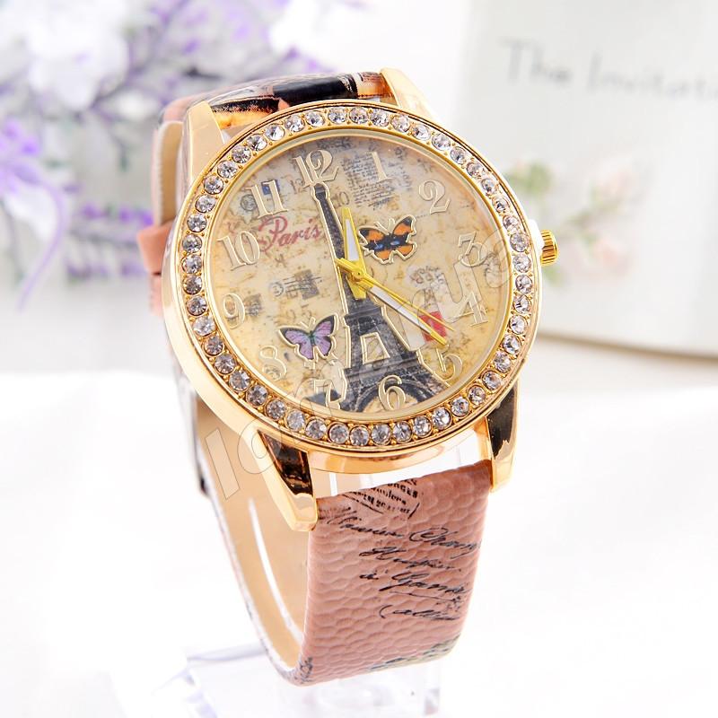 Женские часы со стразами Paris Ver.3