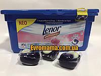 Гель-капсулы для стирки Lenor Pione 3in1 27шт