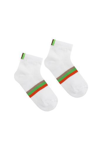 Детские носки в сеточку 951 12-14 салатовый Дюна