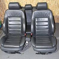Кожаный салон сидения с подогревом Audi A6 C5 97― 05г