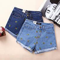 Шорты джинсовые W46