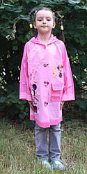Дождевик дтский для девочек Минни-Маус Sprinq 17-801-2 размер  уточнять