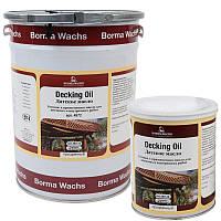 Палубное масло (террасное) для наружных работ Decking Oil, Италия, Borma Wachs (канистра 5 л)