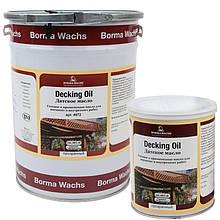 Палубное масло (террасное) для наружных работ Decking Oil, Италия, Borma Wachs (канистра 1 л)