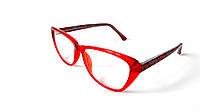 Очки компьютерные Valencia, красные с орнаментом, 100% защита, женские