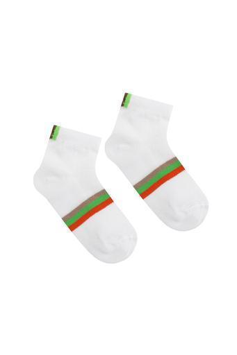 Детские носки в сеточку 951 20-22 салатовый Дюна