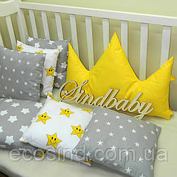 """Бортики в кроватку с короной """"Корона №2"""""""