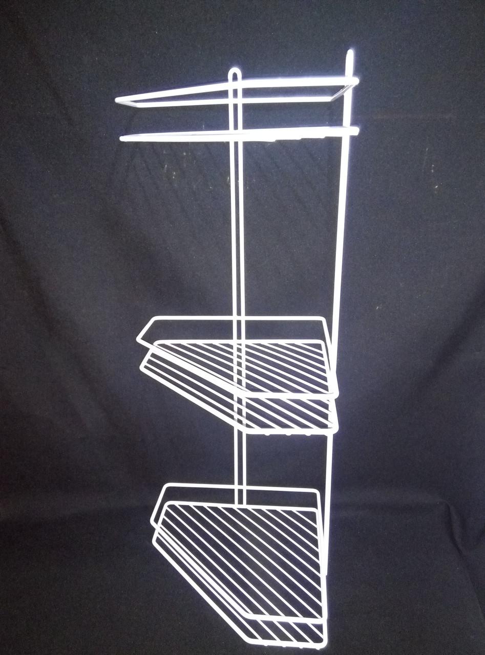 Полка для ванной комнаты графит(серый)