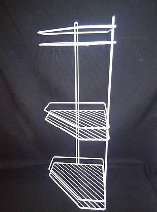 Полка для ванной комнаты графит(серый), фото 2