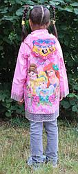 Дощовик дтский для дівчаток Принцеса Princrssa 17-808-3 розмір M