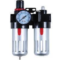 Блок подготовки воздуха (фильтр, редуктор, манометр, маслообогатитель) Sigma (7034021)