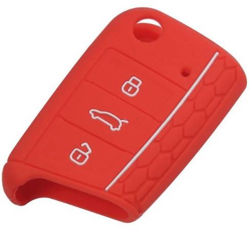 Чехол для ключа VW Golf 7,Passat силиконовый