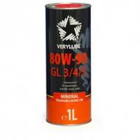 Verylube 80W-90 GL 3/4/5 минеральное трансмиссионное масло 1л