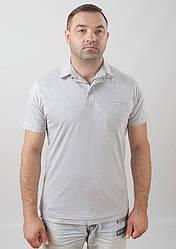 Мужская футболка-поло. Цвета в ассортименте