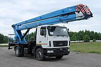 Подъемник монтажный стреловой СММ ПМС-328-03
