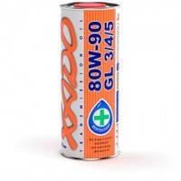 XADO Atomic Oil 80W-90 GL 3/4/5 минеральное универсальное масло высшего класса для всех агрегатов МКПП 1л