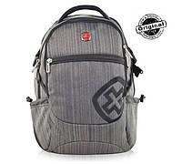 Городской рюкзак SwissGear SA2203Gr_Black  оригинал, фото 1