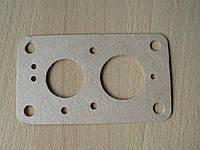 Прокладка карбюратора средняя из картона ВАЗ 2105 - 1107015 с отверстиями 28,4х32,4мм толщина 0,9мм