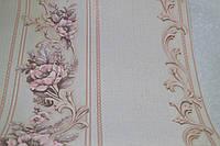 Обои на стену, виниловые,B58,4, Изабелла,  ВКП4-0749, 0.53*10м