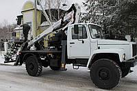 Подъемник автомобильный телескопический СММ ВС-18Т-05