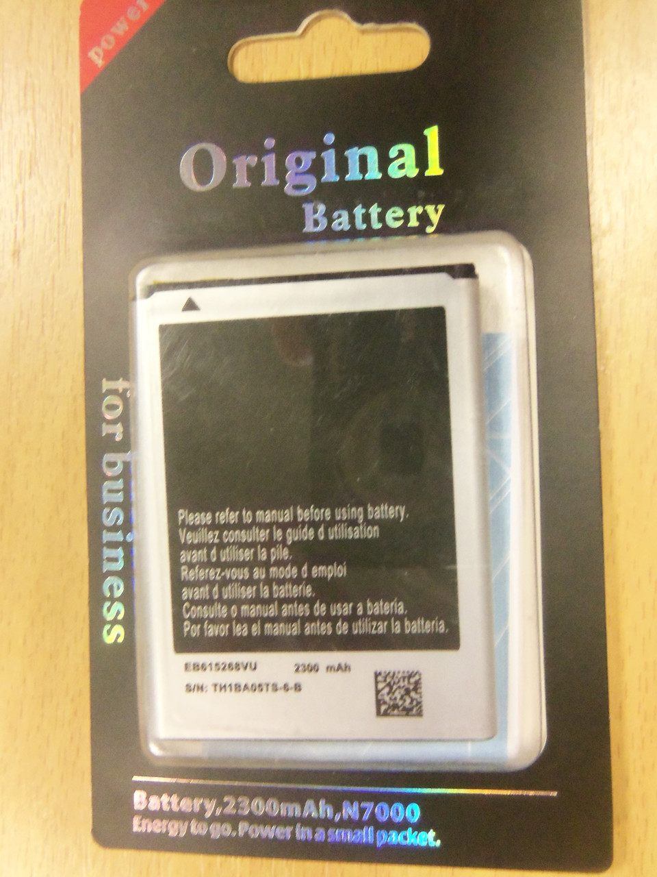 "АКБ ""Original"" AWM Samsung I9220/N7000 EB615268VU"