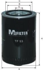 Фильтр масляный M-Filter TF53 (525 OP)