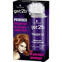 Got2b Powder'ful Volumen Styling Powder - Мгновенный объем Стайлинг-пудра для волос, 10 г